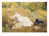 A Summer&#39;s Day Giclee Print by Edward Killingworth Johnson