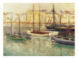 In the Harbour Giclee Print by Paul Mathieu