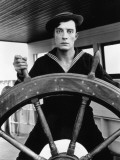 Buster Keaton: The Navigator, 1924 Photographic Print
