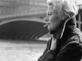 Michèle Morgan in Paris Photographic Print by Luc Fournol