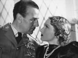 Jany Holt and Jean Murat: Troika Sur La Piste Blanche, 1937 Photographic Print by  Limot