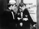 Paul Muni and George Raft: Scarface, 1932 Lmina fotogrfica