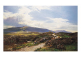 A Perthshire Moor Giclee Print by Sidney Richard Percy