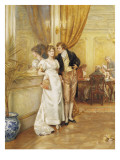 Hearts are Trumps Giclee Print by George Goodwin Kilburne