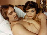 Fabio Testi and Uschi Glas: Le Tueur, 1972 Photographic Print by Marcel Dole