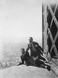 Albert Préjean and Henri Rollan: Paris Qui Dort, 1925 Photographic Print