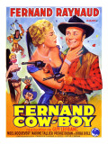 Fernand Cow-Boy, 1956 Lmina fotogrfica por Marcel Dole