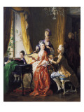 A Family Concert Giclee Print by Carl Herpfer