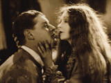 Lars Hanson and Lillian Gish: The Wind, 1928 Photographic Print