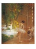 Ballerinas Giclee Print by Henri Gervex