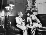 Jean Cocteau and Coco Chanel Fotografisk trykk av Luc Fournol