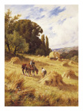 Harvest Time Giclee Print by Henry Parker