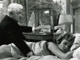 Jean Gabin and Micheline Presle: Le Baron de L'Écluse, 1959 Fotografisk tryk af Marcel Dole