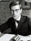 Yves Saint Laurent, July 1960 Photographic Print by Luc Fournol