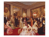 An Elegant Soiree Giclee Print by Horace De Callias