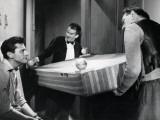 Robert Lamoureux, Fernand Ledoux and Louis de Funès: Papa, Maman, La Bonne et Moi, 1954 Photographic Print by  Limot