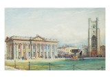 The Senate House at Cambridge University Giclee Print by Bradford Rudge