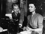 Jean Gabin and Brigitte Auber: Victor, 1951 Photographic Print by  Limot