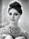 Sophia Loren Fotografisk trykk av Luc Fournol