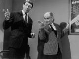 Louis de Funès et Jean-Pierre Marielle : Faites sauter la Banque, 1963 Papier Photo par Marcel Dole