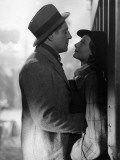 Jean Gabin and Mich&#232;le Morgan: Le Quai Des Brumes, 1938 Photographic Print