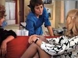 Annie Girardot and Mireille Darc: Elle Boit Pas, Elle Fume Pas, Elle Drague Pas Mais... Elle Cause  Photographic Print by Marcel Dole
