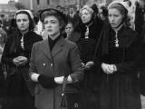 Micheline Presle: L'Amour D'Une Femme, 1954 Fotografisk tryk af Limot