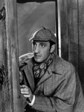 Basil Rathbone: The Adventures of Sherlock Holmes, 1939 Photographic Print