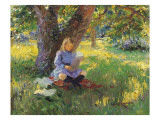 Under the Spreading Chestnut Tree Giclee Print by Albert Gilbert
