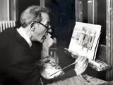 Maurice Utrillo, May 15, 1954 Fotografisk trykk av Luc Fournol