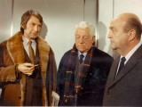 Jean Gabin, Bernard Blier and Félix Marten: Le Tueur, 1972 Photographic Print by Marcel Dole