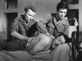 Raymond Devos, Sami Frey and Gérard Séty: Le Travail C'Est La Liberté, 1959 Photographic Print by Marcel Dole