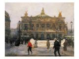 L'Opéra De Paris Giclee Print by Frantz Charlet