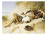 Lazy Days Giclee Print by Margaret Collyer