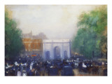 A View of Marble Arch Giclee Print by Emile Hoeterickx