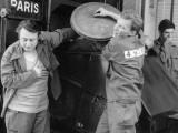 Gérard Séty, Sami Frey and Raymond Devos: Le Travail C'Est La Liberté, 1959 Photographic Print by Marcel Dole