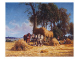 Harvests Giclee Print by Charles Clair