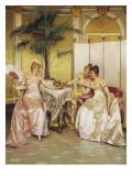 La lettre d'amour Reproduction procédé giclée par Joseph Frederic Soulacroix