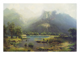 A Bavarian Lake Giclee Print by Robert Schultze