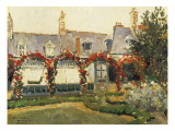 The Rose Garden Giclee Print by Paul Mathieu