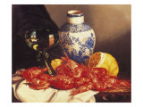 Still Life with Prawns Giclee Print by Edward Ladell