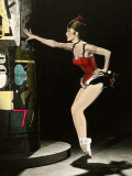 """Cyd Charisse segment """"Deuil en 24 heures"""": Les Collants Noirs, 1960 Photographic Print by  Limot"""