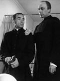 Charles Aznavour and Maurice Teynac: Le Diable et Les Dix Commandements, 1962 Fotografie-Druck von  Limot