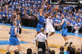 Dallas Mavericks v Oklahoma City Thunder - Game Three, Oklahoma City, OK - MAY 21: James Harden, Ty Photographic Print by Joe Murphy