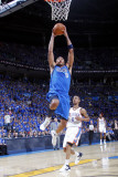 Dallas Mavericks v Oklahoma City Thunder - Game Four, Oklahoma City, OK - MAY 23: Shawn Marion and  Lámina fotográfica por Layne Murdoch