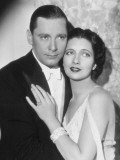 Kay Francis and Herbert Marshall: Haute P&#232;gre, 1932 Photographic Print