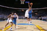 Dallas Mavericks v Oklahoma City Thunder - Game Three, Oklahoma City, OK - MAY 21: Russell Westbroo Photographic Print by Joe Murphy