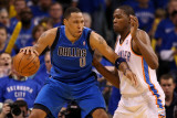 Dallas Mavericks v Oklahoma City Thunder - Game Four, Oklahoma City, OK - MAY 23: Shawn Marion and  Lámina fotográfica por Christian Petersen