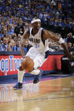 Oklahoma City Thunder v Dallas Mavericks - Game Two, Dallas, TX - MAY 19: Jason Terry Photographic Print by Danny Bollinger