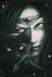 Spiral - Cat Eyes Print